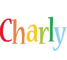 Charly birthday logo