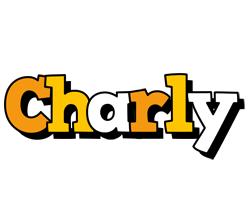 Charly cartoon logo