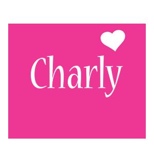 Charly love-heart logo