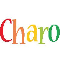 Charo birthday logo