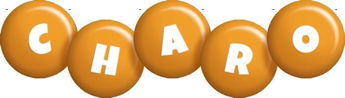 Charo candy-orange logo