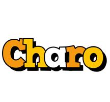 Charo cartoon logo