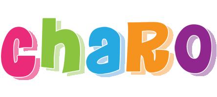 Charo friday logo