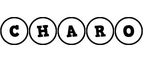Charo handy logo