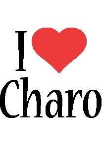 Charo i-love logo