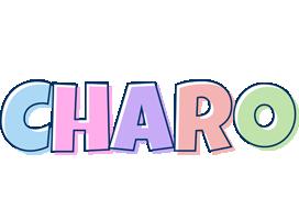 Charo pastel logo