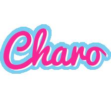 Charo popstar logo
