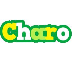 Charo soccer logo