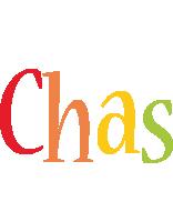 Chas birthday logo