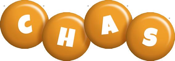 Chas candy-orange logo