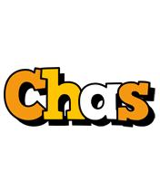 Chas cartoon logo