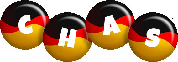 Chas german logo