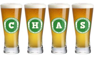 Chas lager logo