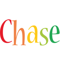 Chase birthday logo