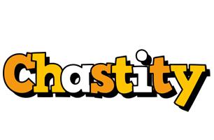 Chastity cartoon logo