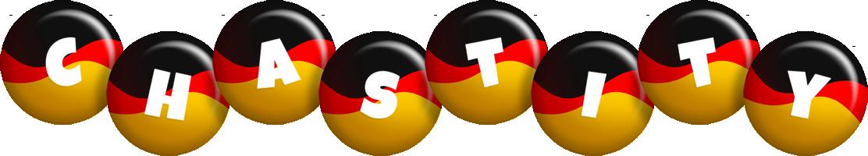 Chastity german logo