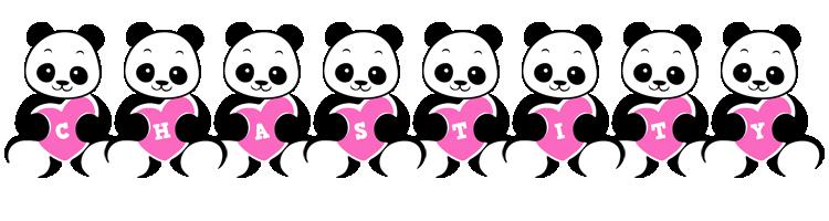 Chastity love-panda logo