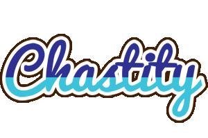 Chastity raining logo
