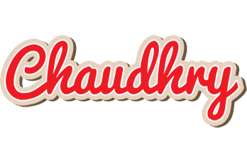 Chaudhry chocolate logo