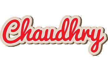 Chaudhry chocolate logo