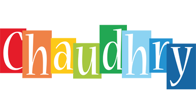 Chaudhry colors logo