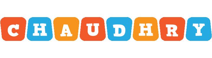 Chaudhry comics logo