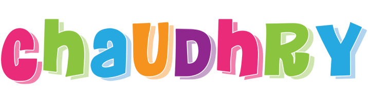 Chaudhry friday logo