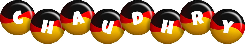 Chaudhry german logo