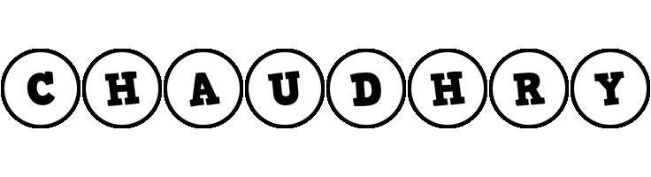 Chaudhry handy logo