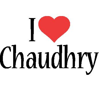 Chaudhry i-love logo