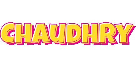 Chaudhry kaboom logo