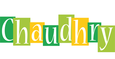 Chaudhry lemonade logo