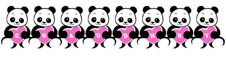 Chaudhry love-panda logo