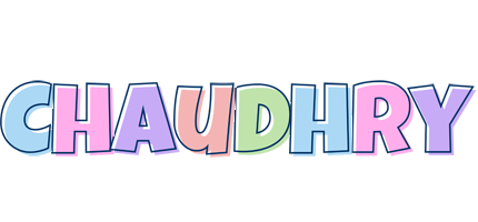 Chaudhry pastel logo