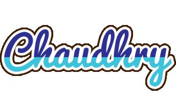 Chaudhry raining logo