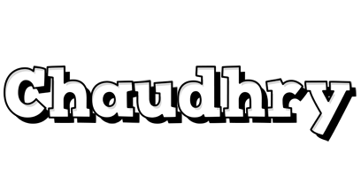 Chaudhry snowing logo