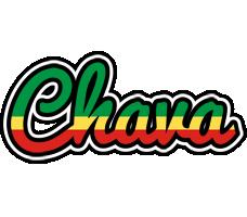 Chava african logo