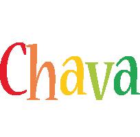 Chava birthday logo