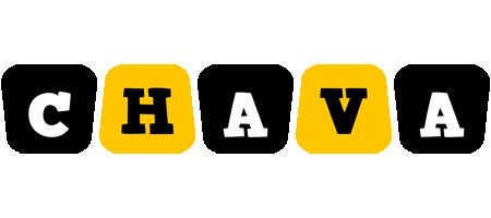 Chava boots logo