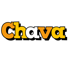 Chava cartoon logo