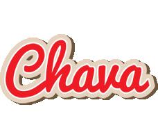 Chava chocolate logo