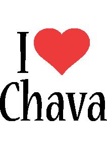 Chava i-love logo