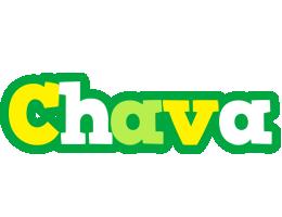 Chava soccer logo