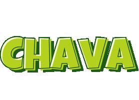 Chava summer logo