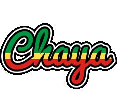 Chaya african logo