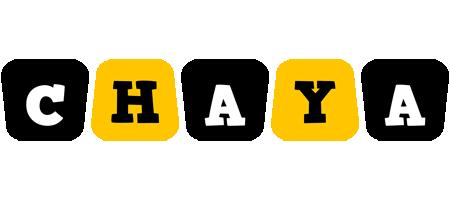 Chaya boots logo
