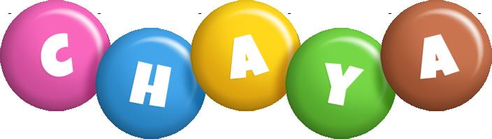 Chaya candy logo