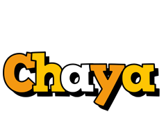 Chaya cartoon logo