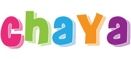 Chaya friday logo