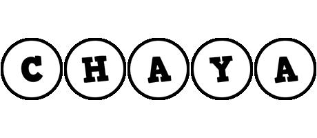 Chaya handy logo
